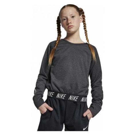 Nike STUDIO REVERSIBLE PO grey - Girls' training sweatshirt
