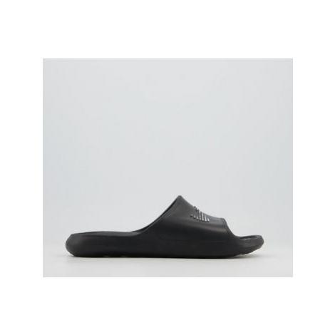 Nike Shower Slides BLACK WHITE BLACK F