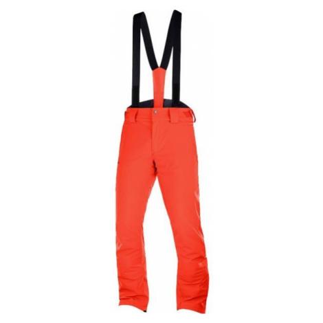 Salomon STORMSEASON orange - Men's ski pants