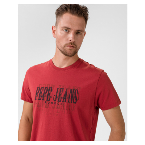 Pepe Jeans Snow T-shirt Red