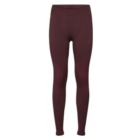 Odlo BL BOTTOM LONG PERFORMANCE WARM red - Women's functional pants