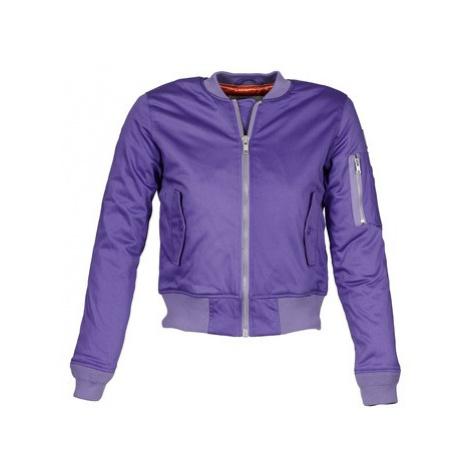 American College OREGON W women's Jacket in Purple