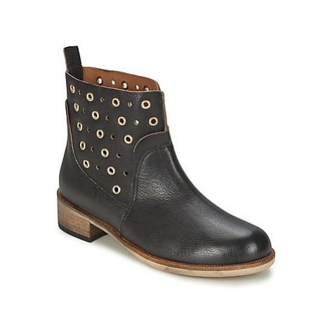 BOSS 50266292 women's Mid Boots in Black Hugo Boss