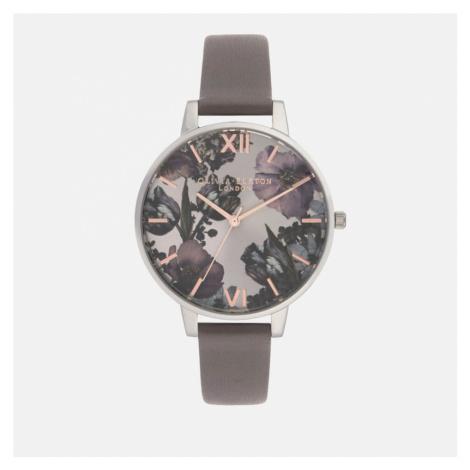 Olivia Burton Women's Twilight Floral Watch - Grey Lilac
