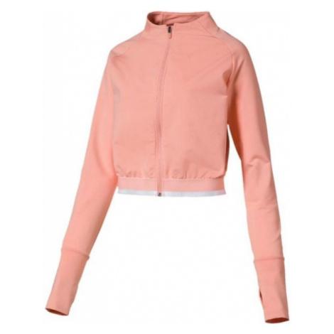 Puma SOFT SPORTS JACKET light pink - Women's sweatshirt