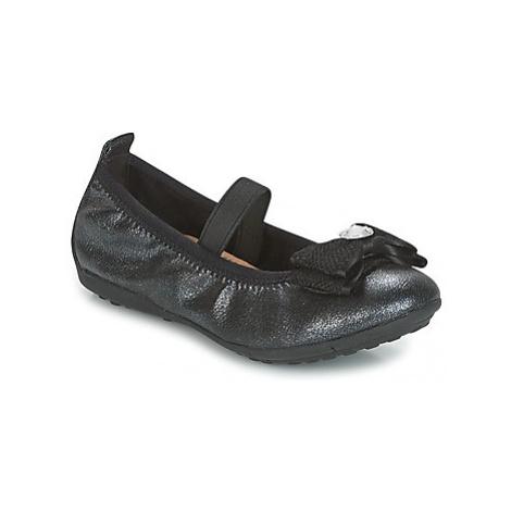 Geox J PIUMA BALLERINES girls's Children's Shoes (Pumps / Ballerinas) in Black
