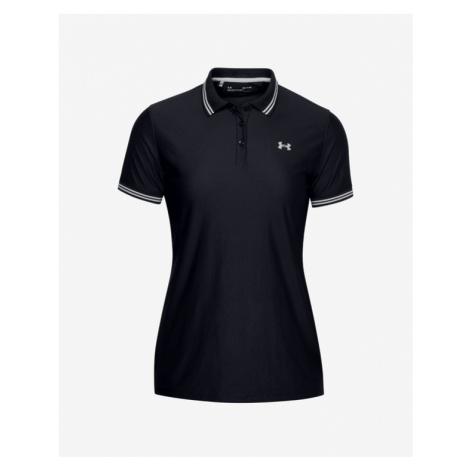 Under Armour Zinger Pique Polo T-shirt Black
