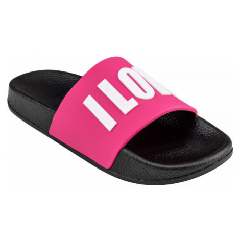 Pink girls' slippers