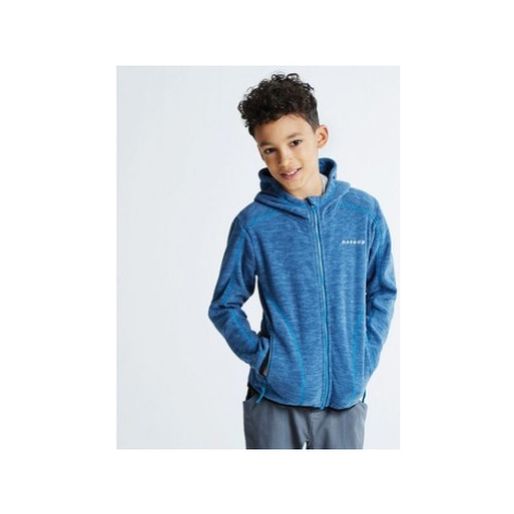 Dare 2b Kids Entreat II Hooded Fleece Blue boys's Children's fleece jacket in Blue