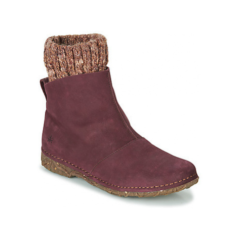 El Naturalista ANGKOR women's Mid Boots in Purple