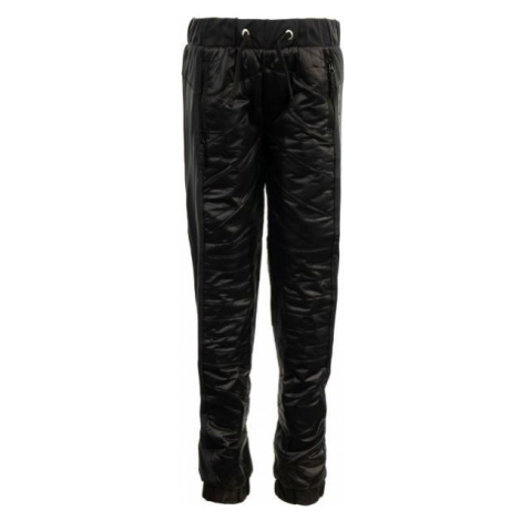ALPINE PRO SLAVIO black - Children's pants
