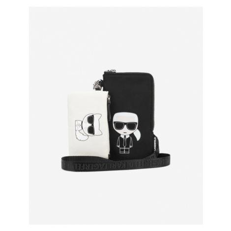 Karl Lagerfeld K/Ikonik Double Case Black White
