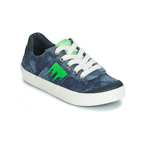 Geox J KILWI BOY boys's Children's Shoes (Trainers) in Blue