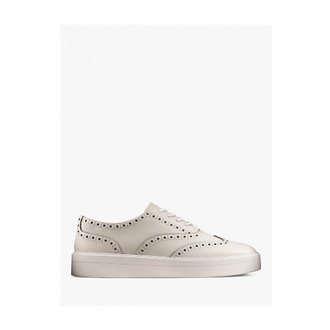 Clarks Hero Flatform Leather Brogues