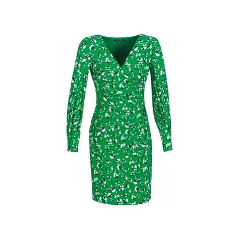 Lauren Ralph Lauren FLORAL PRINT-LONG SLEEVE-JERSEY DAY DRESS women's Dress in Green