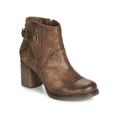 Mustang 1340503-362 women's Low Ankle Boots in Brown