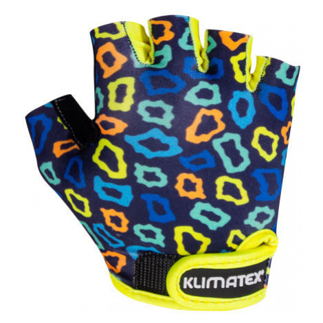 Klimatex KOTTE dark blue - Kids' cycling gloves