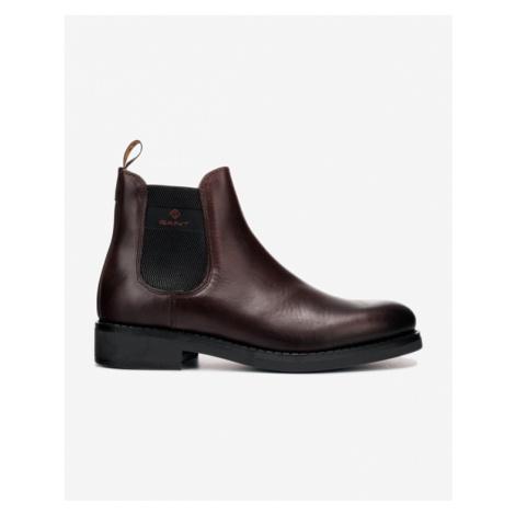 Brown men's chelsea boots