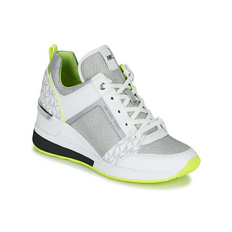 MICHAEL Michael Kors GEORGIE TRAINER women's Shoes (Trainers) in White