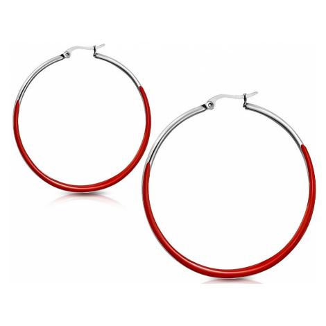 earrings Body Art TEC075 - Red