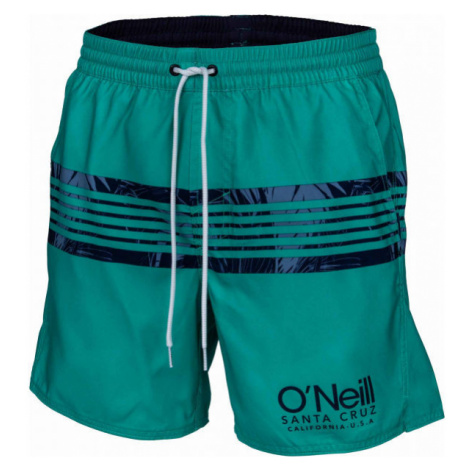 O'Neill PM CALI STRIPE SHORTS dark green - Men's water shorts