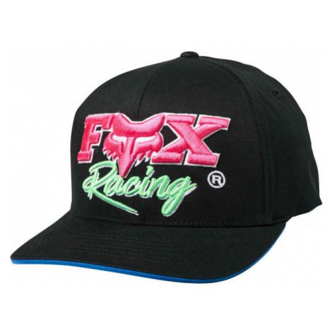 Fox CASTR FLEXFIT black - Men's baseball cap