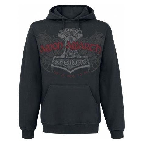 Amon Amarth The Pursuit Of Vikings Hooded sweater black