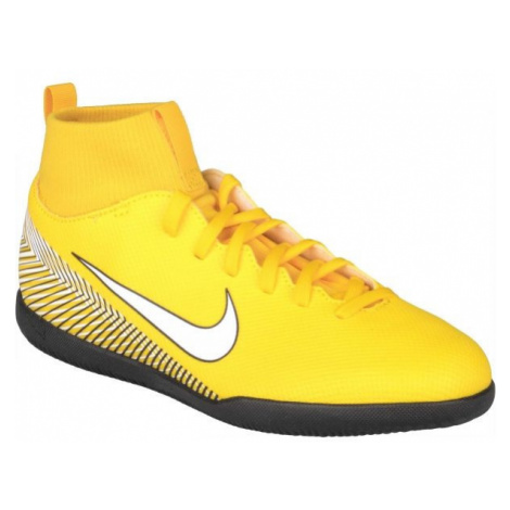 Nike SUPERFLY 6 CLUB NJR IC yellow - Kids' indoor shoes