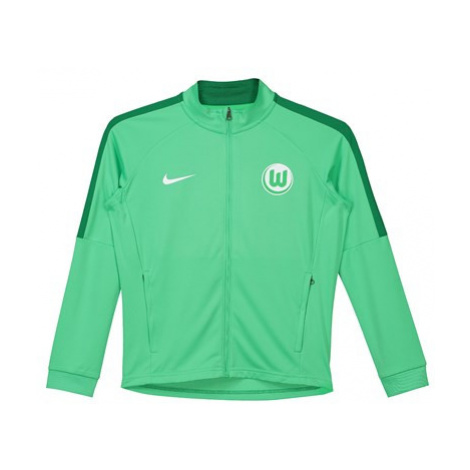 VfL Wolfsburg Training Presentation Jacket - Green - Kids