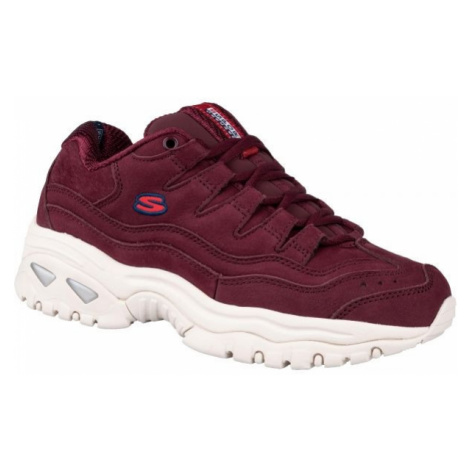 Skechers ENERGY - WAVE DANCER red wine - Women's sneakers