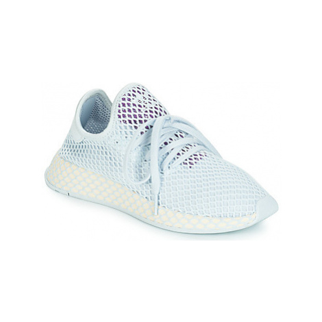Adidas DEERUPT RUNNER W women's Shoes (Trainers) in Blue