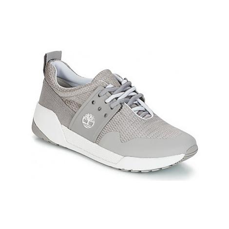 Timberland KIRI METALLIC women's Shoes (Trainers) in Grey