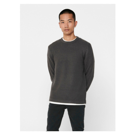 ONLY & SONS Loocer Sweater Grey