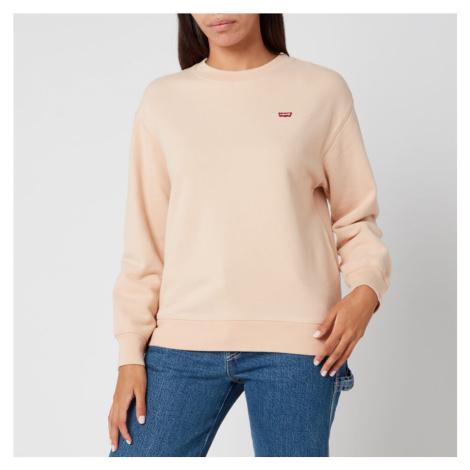 Levi's Women's Standard Crew Neck Sweatshirt - Toasted Almond Levi´s