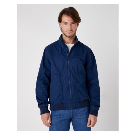 Blue men's spring/autumn jackets