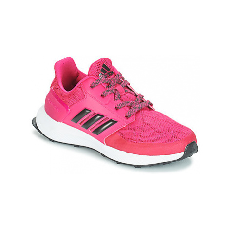 Adidas RAPIDARUN K girls's Children's Sports Trainers in Pink