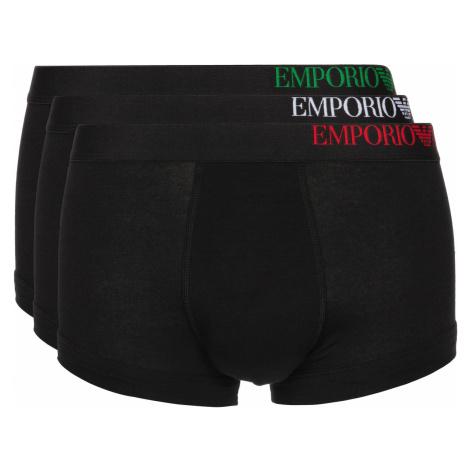 Emporio Armani Boxers 3 Piece Black
