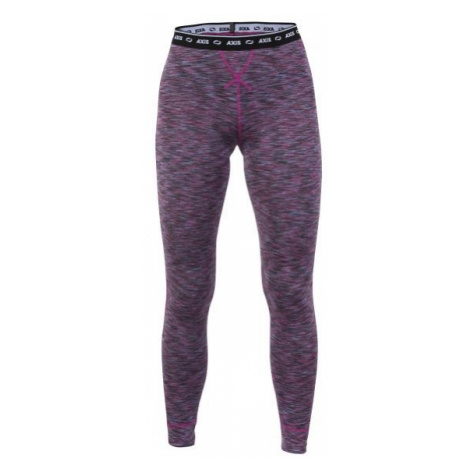 Axis COOLMAX PANTS MELIR W red wine - Women's thermo pants