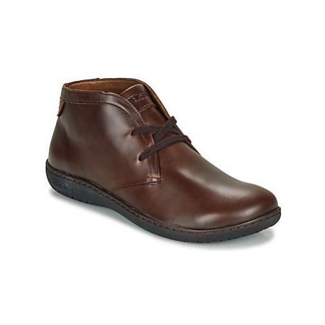 Birkenstock SCARBA women's Casual Shoes in Brown