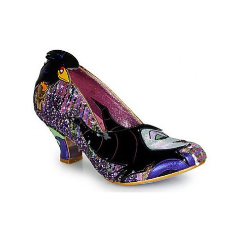 Irregular Choice TOUCH THE SPINDLE! women's Court Shoes in Pink