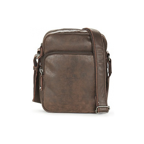 Hexagona MOLILO men's Pouch in Brown