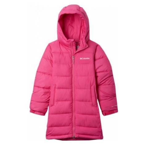 Columbia PIKE LAKE LONG JACKET pink - Girls' winter jacket