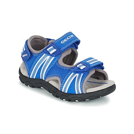 Geox J S.STRADA A boys's Children's Sandals in Blue