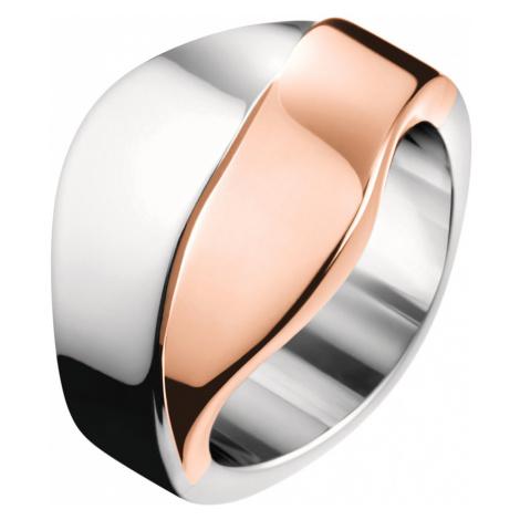 Calvin Klein Ring Pink Silver