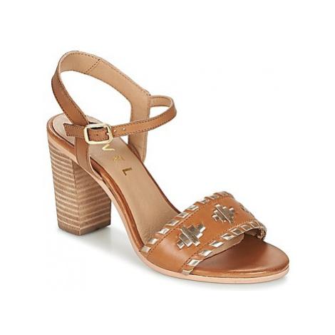 Ravel HALLERTON women's Sandals in Brown