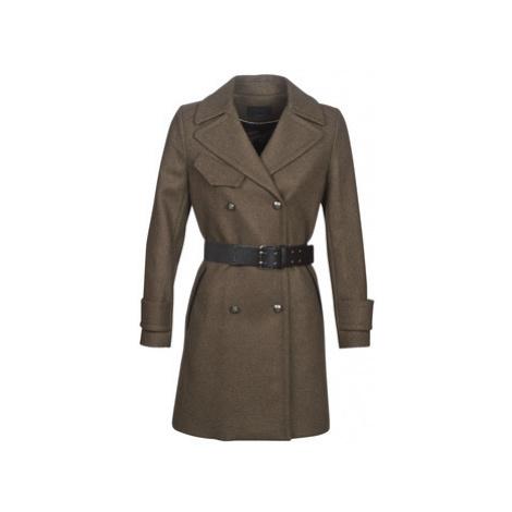 Ikks NITIME women's Coat in Kaki