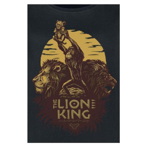 The Lion King Sunrise Collage T-Shirt black