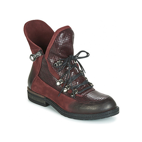 Metamorf'Ose FACHA women's Mid Boots in Bordeaux