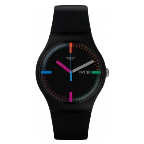 Unisex Swatch THE INDEXTER Watch SUOB719