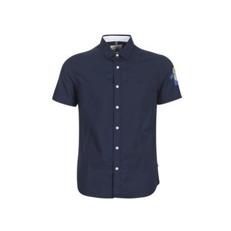 Aigle HERONO men's Long sleeved Shirt in Blue